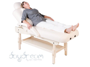 DAYDREAM 2-SECTION HEIGHT ADJUSTABLE WOODEN TREATMENT COUCH