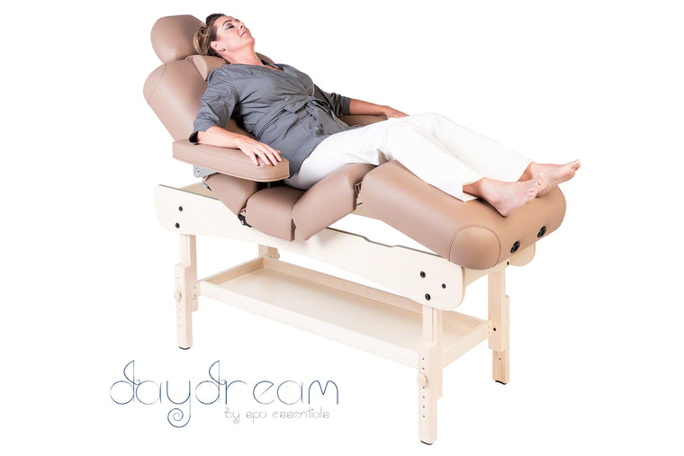 DAYDREAM MULTI-SECTION HEIGHT ADJUSTABLE WOODEN TREATMENT COUCH
