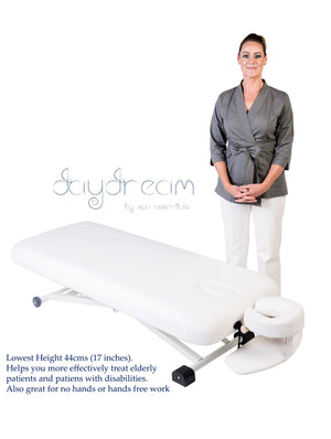 daydream electric massage table in low height position