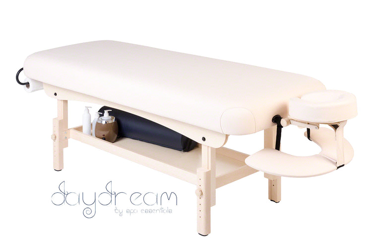 DAYDREAM 1-SECTION HEIGHT ADJUSTABLE WOODEN TREATMENT COUCH