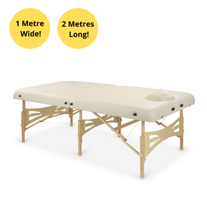 EXTRA WIDE & SUPER STRENGTH TREATMENT TABLE