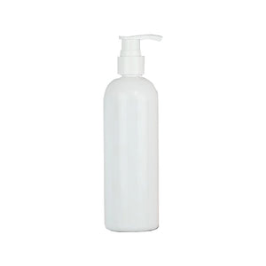 250ML SLIMLINE BOTTLE WITH PUMP -Fits our Massage Oil Warmer!