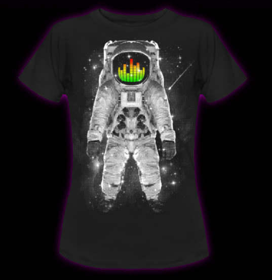 Spaced - Women's T-Shirt