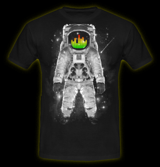 Spaced - Men's T-Shirt