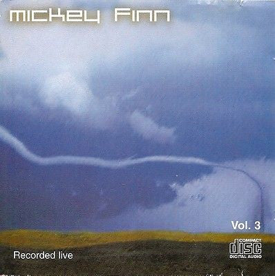 Mickey Finn Live Vol.3 DAT Recording Rare CD