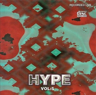 DJ Hype Live Vol.5 DAT Recording Rare CD