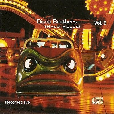 Disco Brothers Live Vol.1 DAT Recording Rare CD