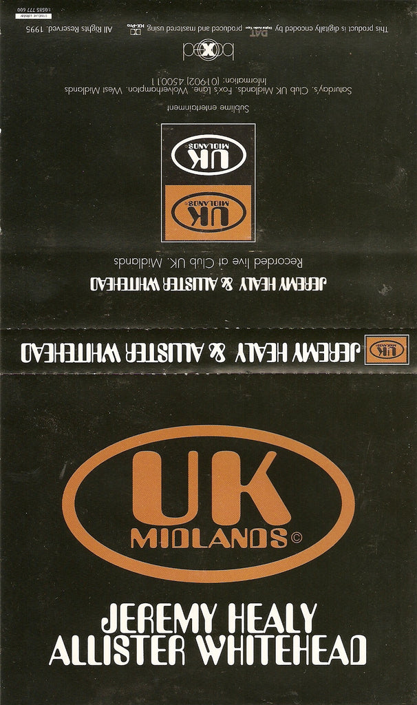 Boxed: UK Midlands - Allister Whitehead [Download]