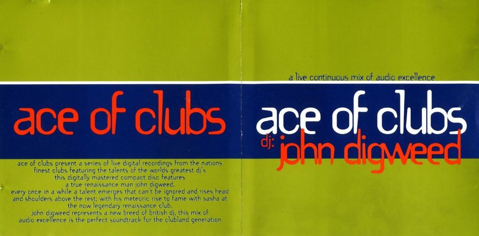 Ace of Clubs - John Digweed [Download]