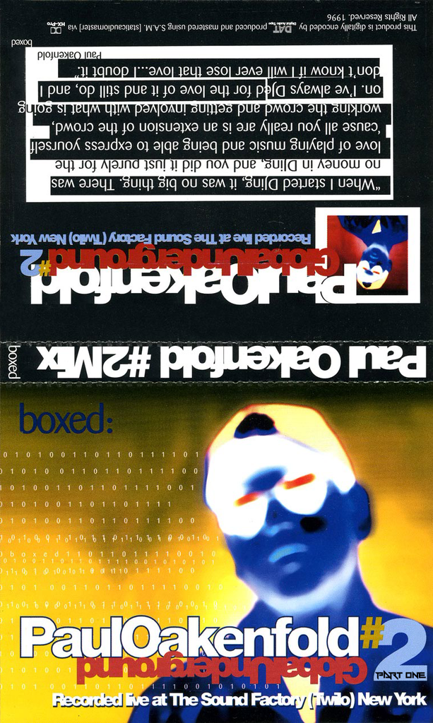 Boxed: Live at Twilo Pt.1 - Paul Oakenfold [Download]