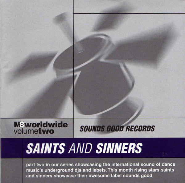 Saints And Sinners  ‎–  M8 Worldwide Volume Two