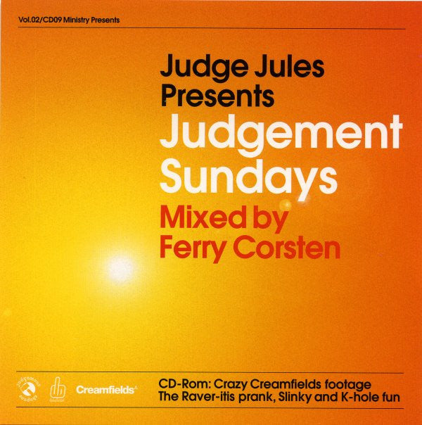 Ferry Corsten  ‎–  Judgement Sundays