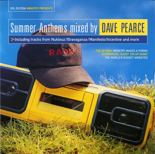 Dave Pearce  ‎–  Ministry Presents Summer Anthems