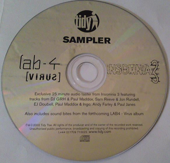 Various /  Lab4  ‎–  Tidy Sampler (Autographed)