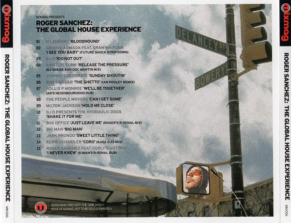 Roger Sanchez  ‎–  The Global House Experience