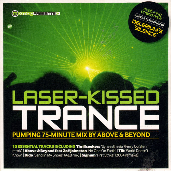 Above & Beyond  ‎–  Laser-Kissed Trance