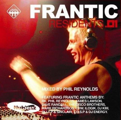 Frantic Residents 01 - Mixed by Phil Reynolds