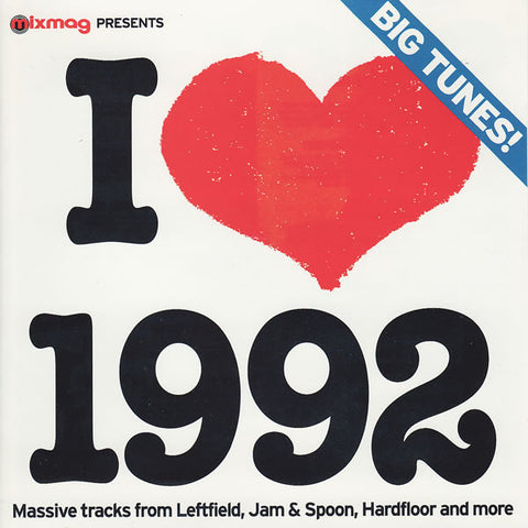 Various  ‎–  I Love 1992