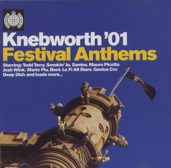 Various  ‎–  Knebworth '01 - Festival Anthems