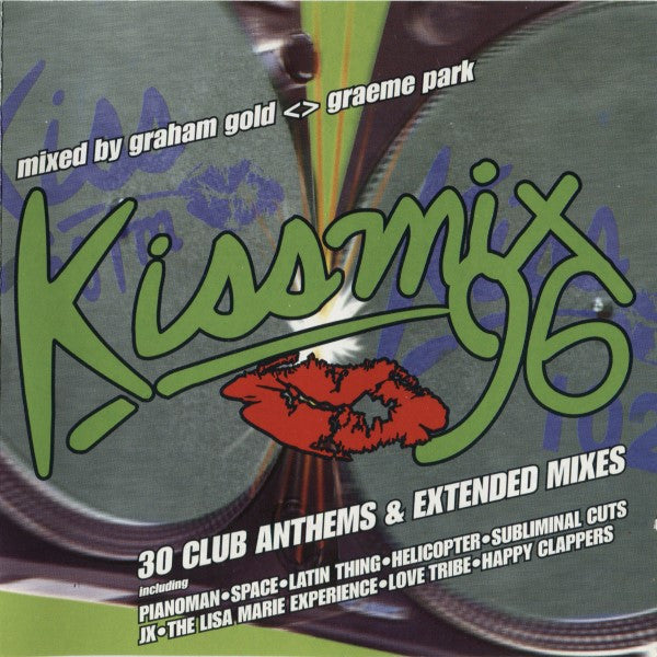 Graham Gold / Graeme Park ‎–  Kissmix 96