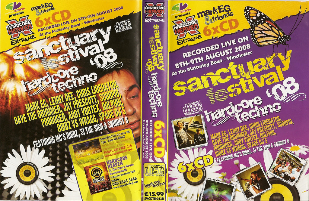 Hardcore Heaven Hardcore Techno - Sanctuary Festival Live 2008
