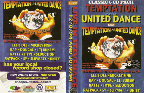 Temptation & United Dance - Live in Stevenage 1994