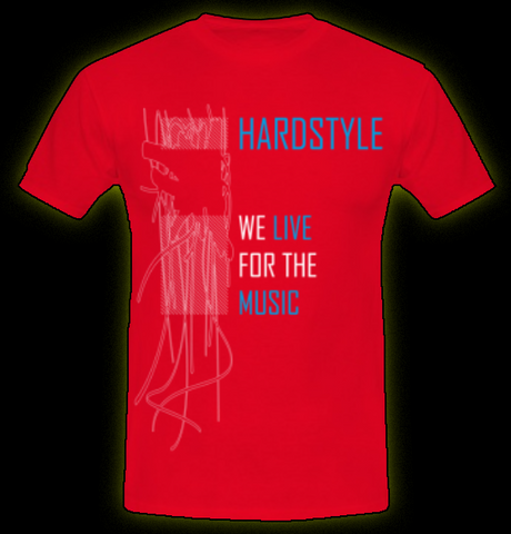 Live For Hardstyle - Men's T-Shirt