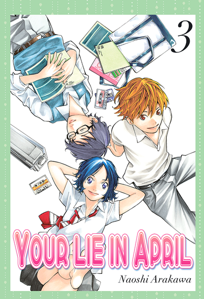 Your Lie in April, Vol. 3