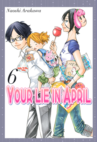 Your Lie in April, Vol. 6