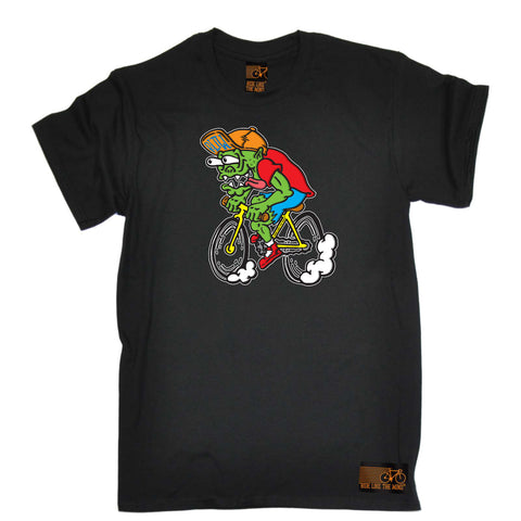 Ride Like The Wind Cycling Tee - Weirdo Cyclist - Mens T-Shirt