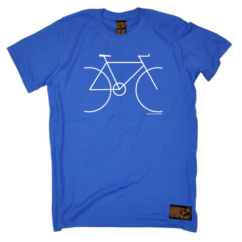 Ride Like The Wind Cycling Tee - Bike Simple - Mens T-Shirt
