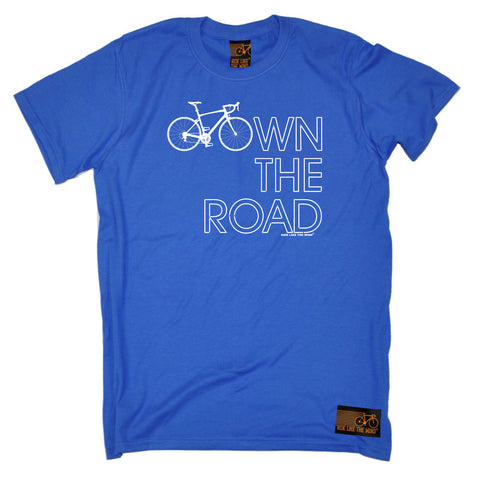 Ride Like The Wind Cycling Tee - Own The Road - Mens T-Shirt