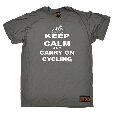 Ride Like The Wind Cycling Tee - Keep Calm - Mens T-Shirt