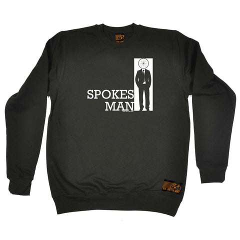 Ride Like The Wind Cycling Sweatshirt - Spokes Man - Sweater Jumper