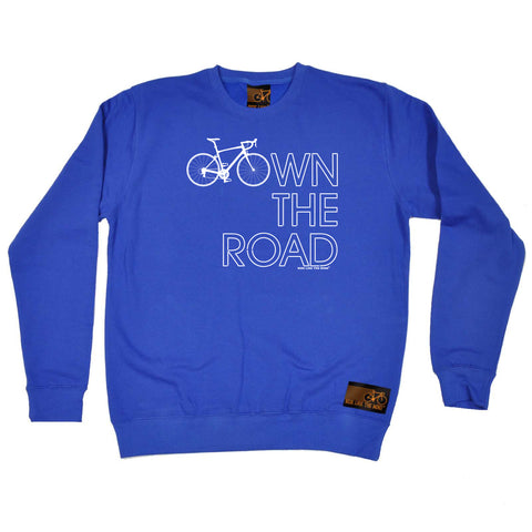 Ride Like The Wind Cycling Sweatshirt - Own The Road - Sweater Jumper