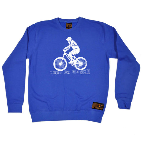 Ride Like The Wind Cycling Sweatshirt - This Is My Gym - Sweater Jumper