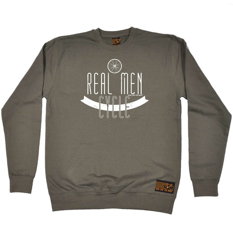 Ride Like The Wind Cycling Sweatshirt - Real Men Cycle - Sweater Jumper