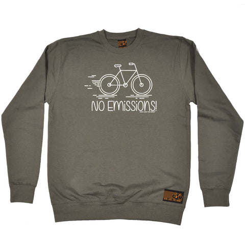 Ride Like The Wind Cycling Sweatshirt - No Emissions - Sweater Jumper