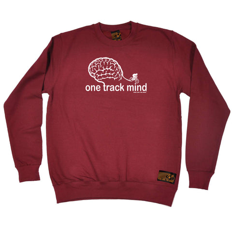 Ride Like The Wind Cycling Sweatshirt - One Track Mind Bike - Sweater Jumper
