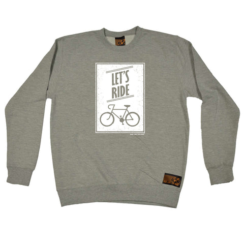 Ride Like The Wind Cycling Sweatshirt - Lets Ride - Sweater Jumper