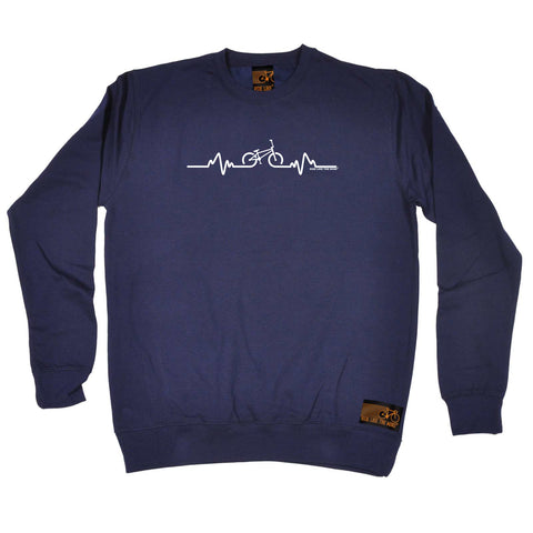 Ride Like The Wind Cycling Sweatshirt - Pulse Bmx - Sweater Jumper