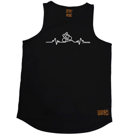 Ride Like The Wind Cycling Vest - Pulse Mountain Bike - Dry Fit Performance Vest Singlet