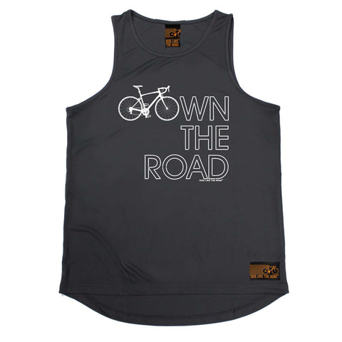 Ride Like The Wind Cycling Vest - Own The Road - Dry Fit Performance Vest Singlet