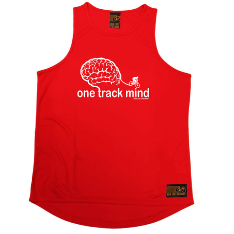 Ride Like The Wind Cycling Vest - One Track Mind Bike - Dry Fit Performance Vest Singlet