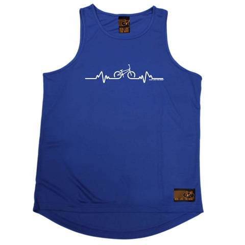 Ride Like The Wind Cycling Vest - Pulse Bmx - Dry Fit Performance Vest Singlet