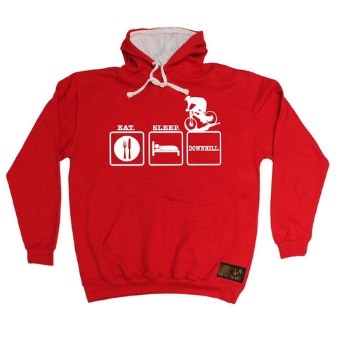 Ride Like The Wind Eat Sleep Downhill Cycling Hoodie