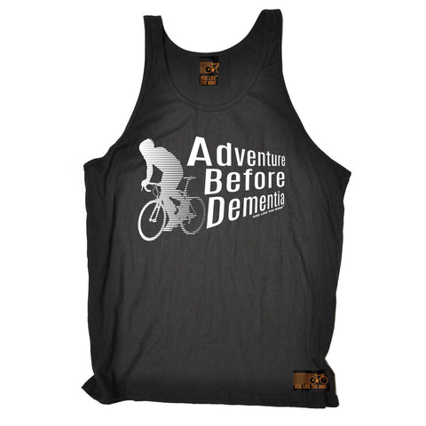 Ride Like The Wind Adventure Before Dementia Cycling Vest Top