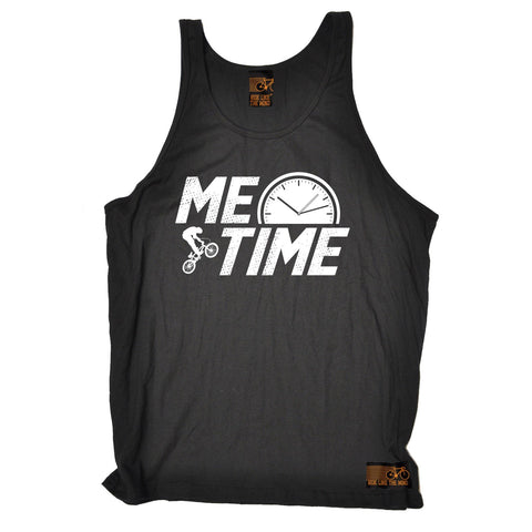 Ride Like The Wind Me Time BMX Design Cycling Vest Top