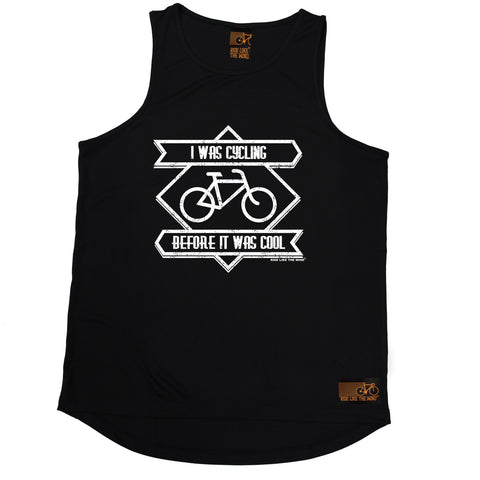 Ride Like The Wind I Was Cycling Before It Was Cool Cycling Men's Training Vest
