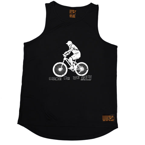 Ride Like The Wind This Is My Gym ... Bike Design Cycling Men's Training Vest